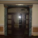 лепнина дверь
