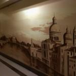фрески и лепнина